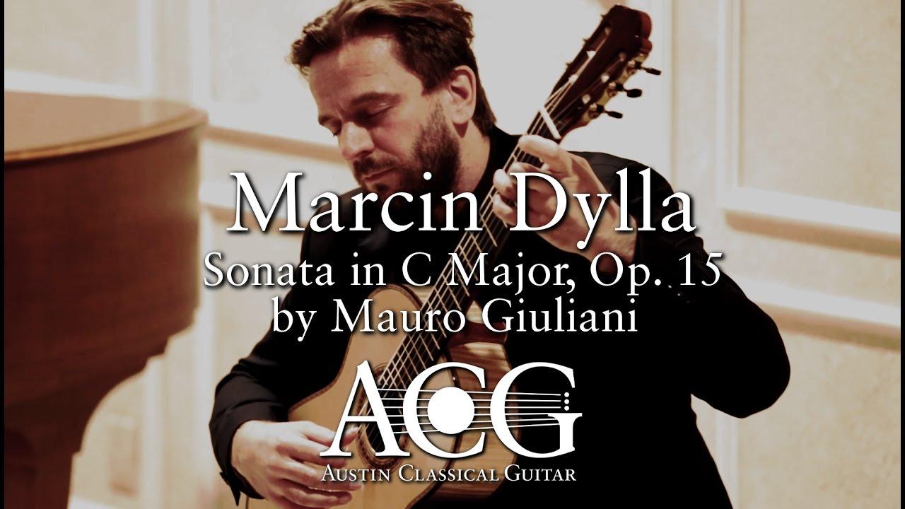 マルシン・ディラが弾くジュリアーニの『ソナタ Op.15』 若々しさあふれる古典の名曲