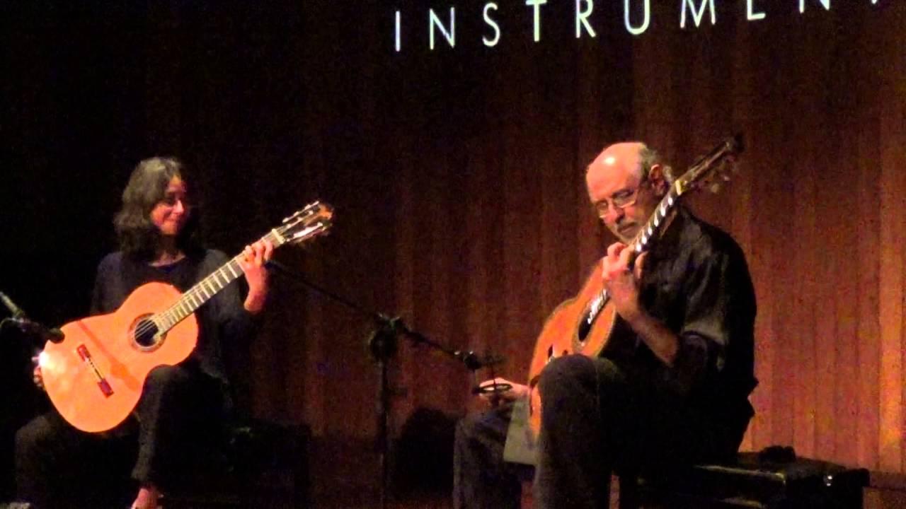 クリスティーナ・アズマとパウロ・ベリナティのデュオ・コンサート 2015年の映像より