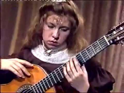 ガリーナ・ヴェイルが弾くバリオスの『紡ぎ歌』 12歳の頃の演奏動画