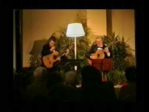 ジョン・ミルズが弾くグラナドスの『間奏曲』 レイモンド・バーリーとの二重奏