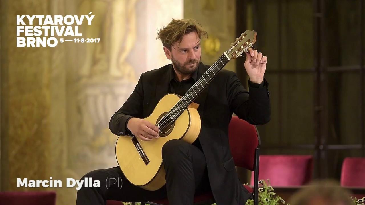 マルシン・ディラが弾くブリテンの『ノクターナル』 ブルノ国際ギターフェスティバルでの演奏