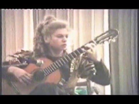 ガリーナ・ヴェイルが弾くテデスコの『ギターコンチェルト~第3楽章』 14歳の頃の鮮やかな快演