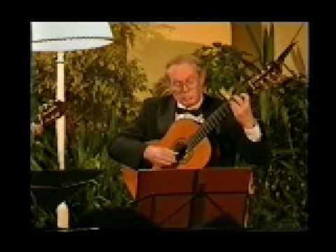 レイモンド・バーリーとジョン・ミルズが弾くカルリの『セレナーデ イ長調』 1998年の映像