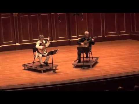 アンヘル・ロメロとエリオット・フィスクが弾くグラナドスの『アンダルーサ』 2009年ボストンでの2大名手の共演