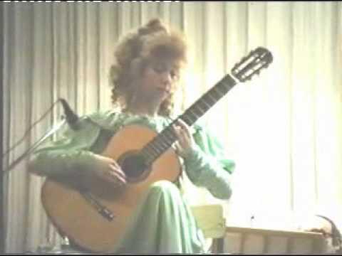 ガリーナ・ヴェイルが弾くロドリーゴの『カナリオ』 13歳の頃の堂々たる演奏