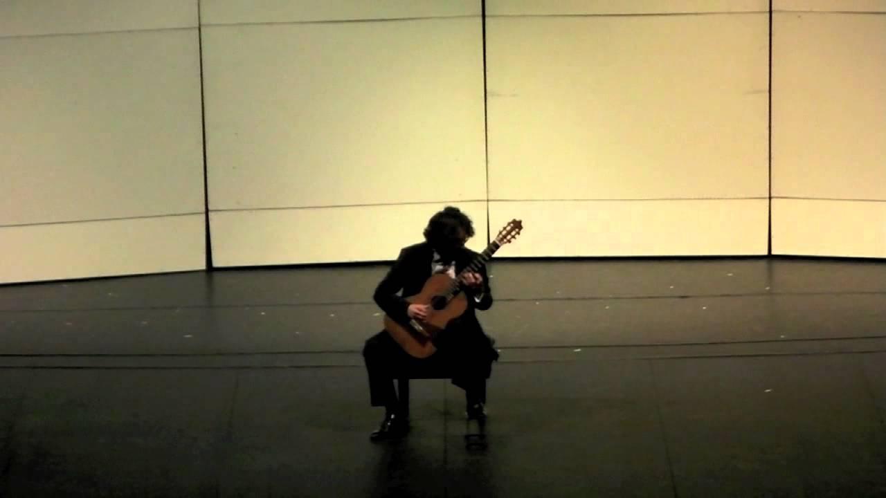 セリル・レフィック・カヤが弾くヨークの『Just How Funky Are You』 2012年GFA国際ギターコンクールでの映像