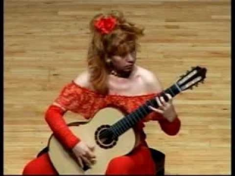 ガリーナ・ヴェイルが弾くサビーカスの『ファルーカ』 切れ味鋭いテクニックで奏でられるフラメンコの調べ