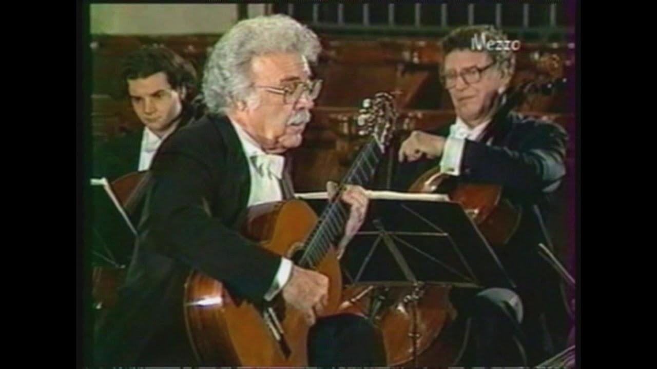 アレクサンドル・ラゴヤが弾くマルチェロの『協奏曲ニ短調』 自ら指揮を執りながらの演奏