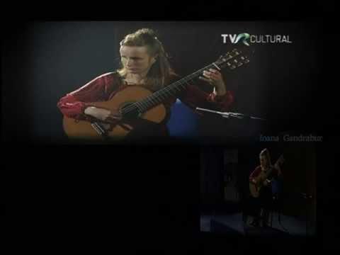 イオアナ・ガンドラブールが弾く『黒いデカメロン2』 ~こだまの谷をぬける恋人たちの逃走