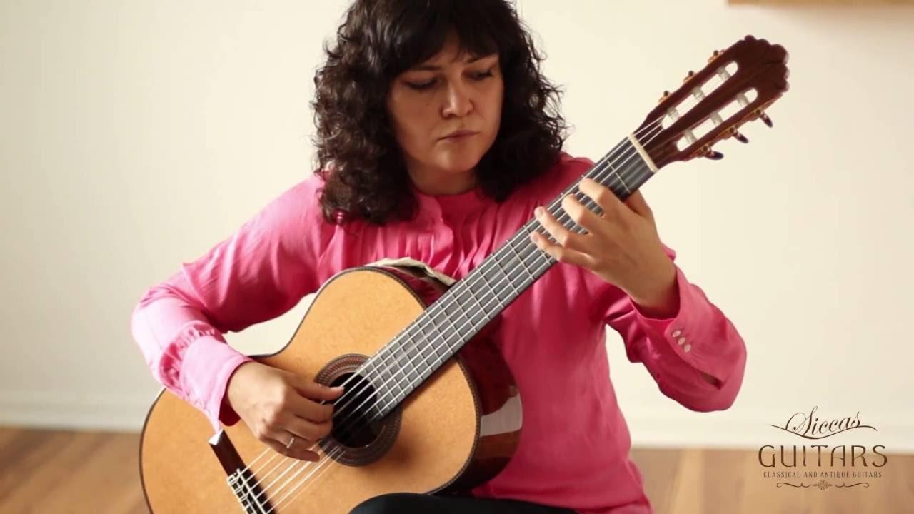 イリーナ・クリコヴァが弾くバッハの『クーラント』 チェロ組曲第1番より