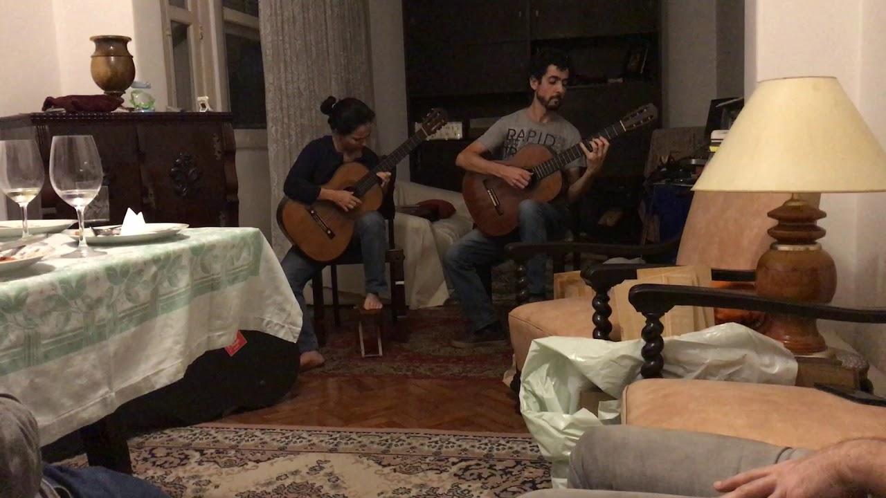Duo Siqueira Limaが弾くメンデルスゾーンの『無言歌』 オフステージでの美しい演奏