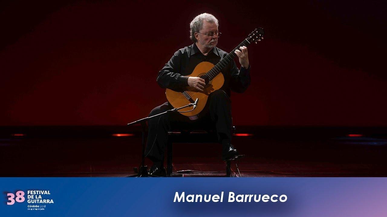 マヌエル・バルエコが弾くソルの『月光』 2018年コルドバ・ギターフェスティバルより