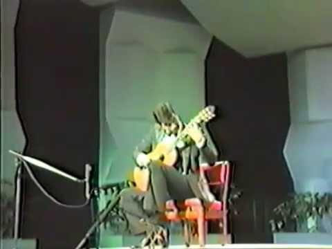 マルセロ・カヤトが弾くロドリーゴの『ファンダンゴ』 1986年のリサイタルより