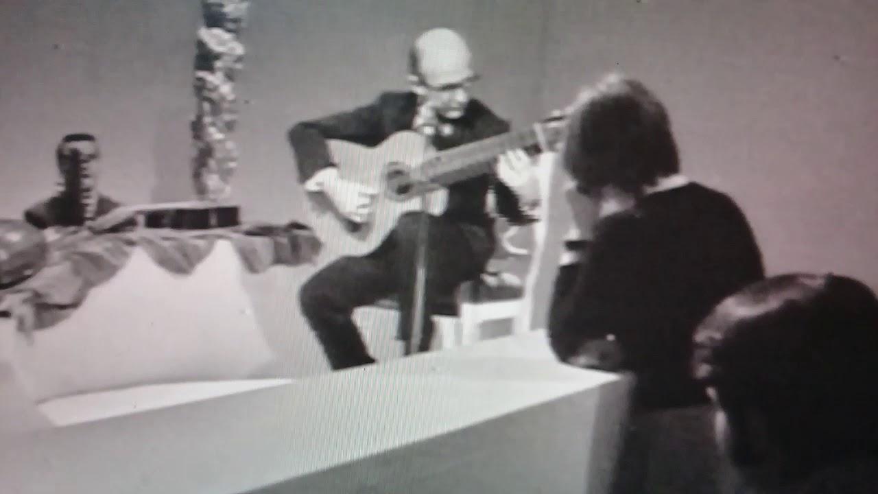 ナルシソ・イエペスが弾くピサドールの『パヴァーヌ』 1971年のテレビ番組より
