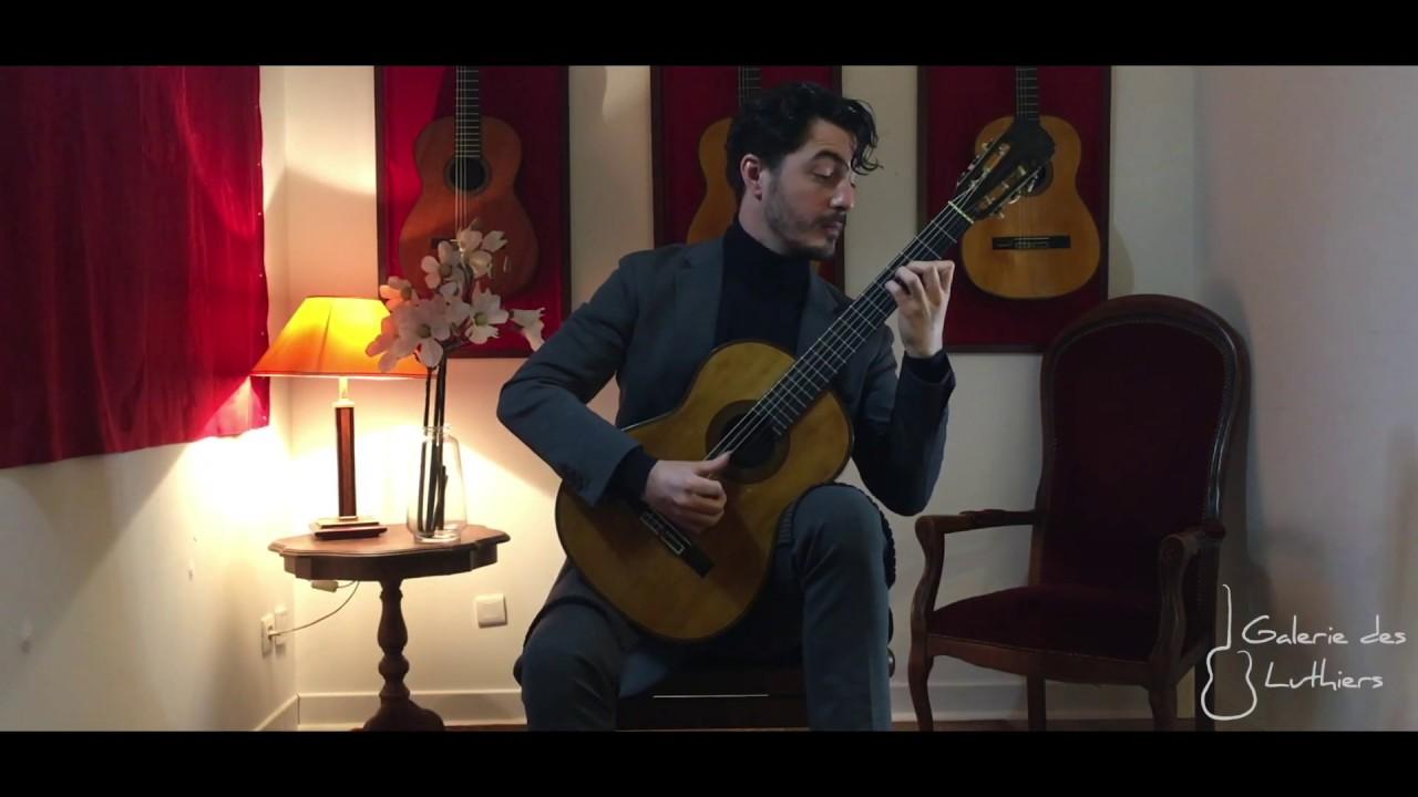 ガブリエル・ビアンコが弾くバリオスの『郷愁のショーロ』 1924年のシンプリシオによる演奏