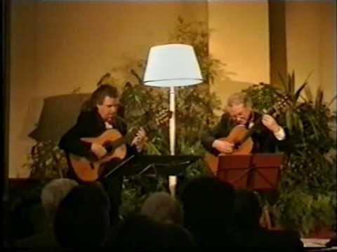 レイモンド・バーリーとジョン・ミルズが弾くメルツの『夕べの祈り』