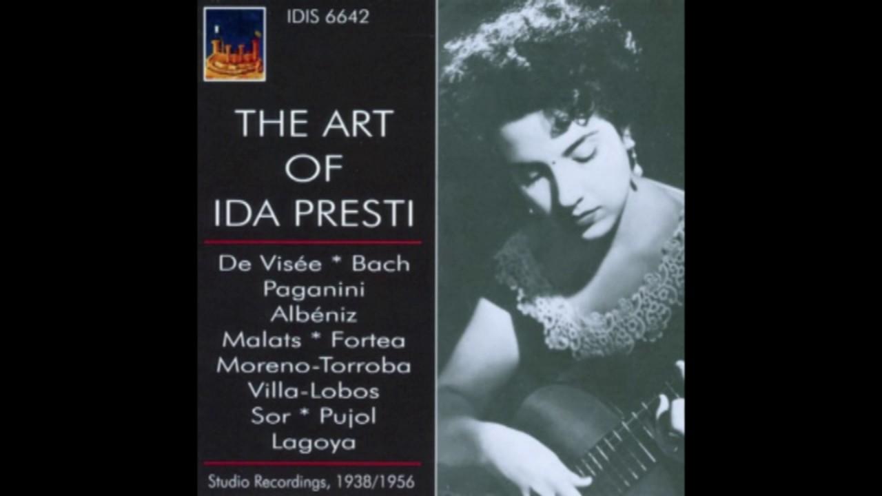 『The Art of イダ・プレスティ』 1938~1956の貴重な録音