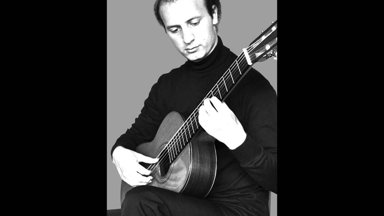ニコラス・ペトロウが弾くパガニーニの『アンダンティーノ・ヴァリエート』