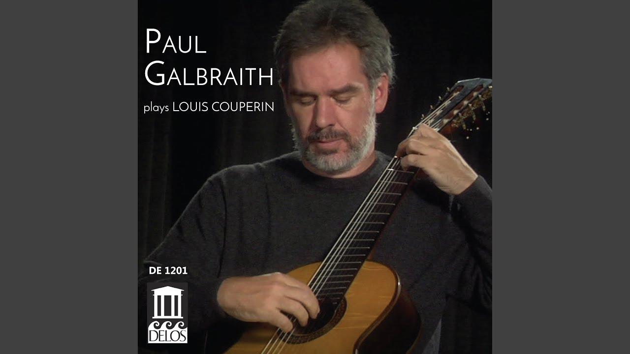 ポール・ガルブレイスが弾くクープランの『パヴァーヌ』