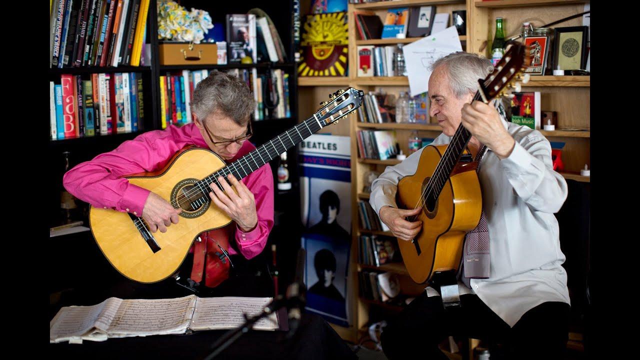 エリオット・フィスクとパコ・ペーニャによる『タイニー・デスク・コンサート』