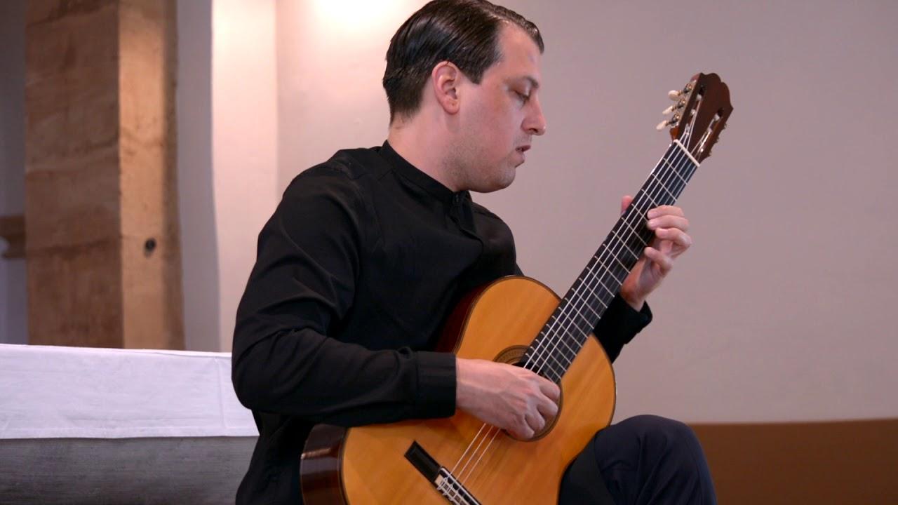 タル・フルヴィッツが弾くバッハの『アレグロ』 バイオリン・ソナタ第2番より