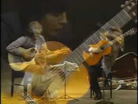 山下和仁とラリー・コリエルが弾くビバルディの『四季~夏・第2楽章』