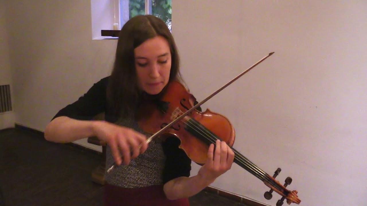 ベルトラム・ビュルケルトが弾くファリャの『スペイン舞曲』 マリア・レイヒ(Vl)との共演