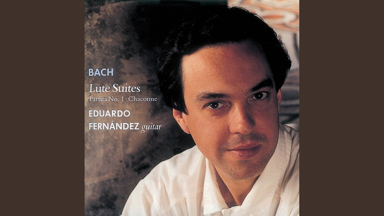 エデュアルド・フェルナンデスが弾くバッハの『プレリュードBWV996』