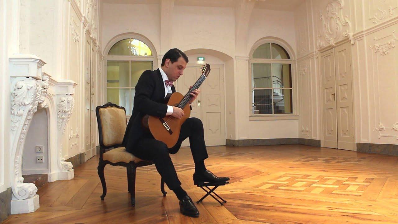 タル・フルヴィッツが弾くアグアドの『アンダンテとロンド』