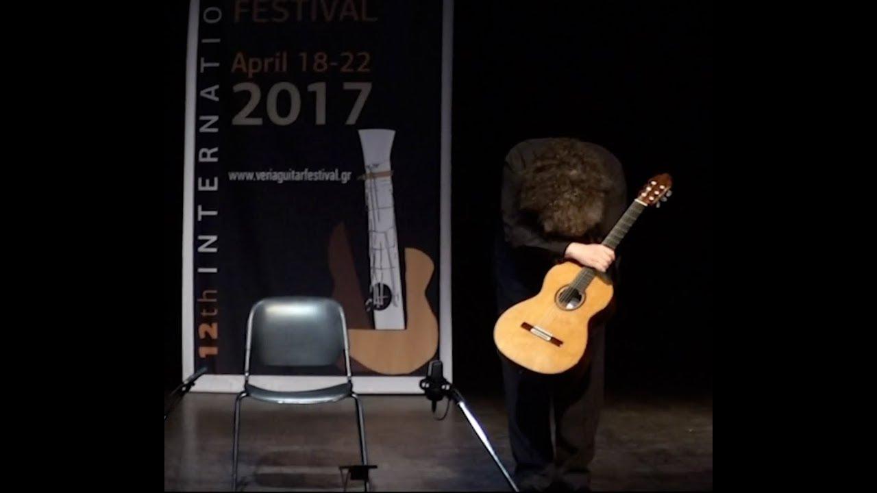 ゾーラン・ドゥキッチが弾くピアソラの『アディオス・ノニーノ』 2017年ヴェリア国際ギターフェスティバルでの演奏