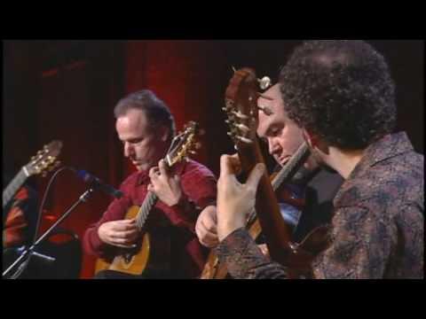 ロサンゼルス・ギター・カルテットが弾くリストの『ハンガリー狂詩曲第2番』