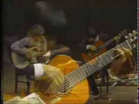 山下和仁とラリー・コリエルが弾くビバルディの『四季~秋・第1楽章』