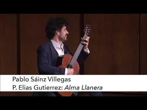 パブロ・ヴィレガスが弾くグティエレスの『アルマ・ジャネーラ』