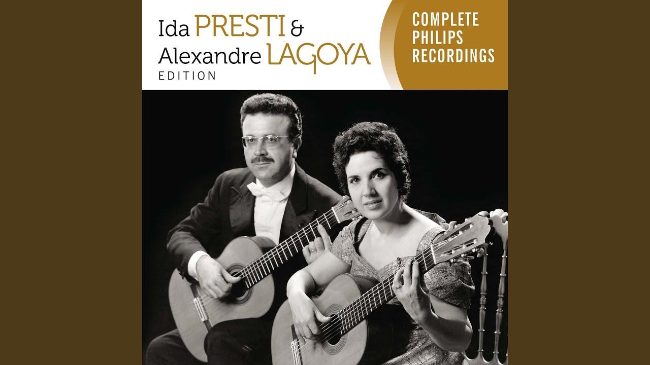 プレスティ&ラゴヤが弾くプティの『2つのギターのためのタランテラ』
