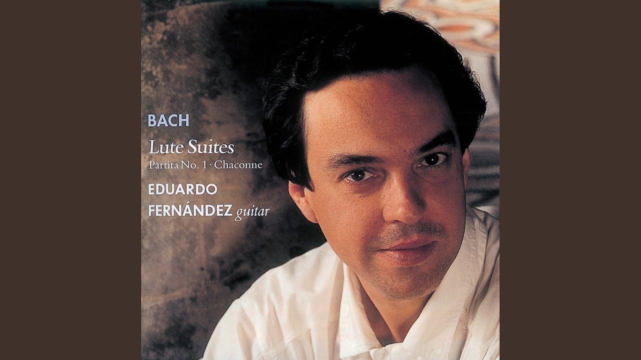エデュアルド・フェルナンデスが弾くバッハの『プレリュードBWV825』