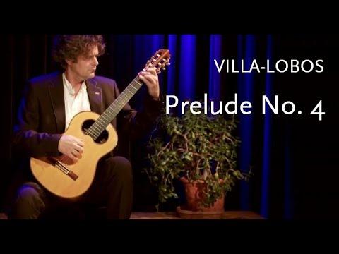 エンノ・フォールホルストが弾くヴィラ=ロボスの『プレリュードNo4』