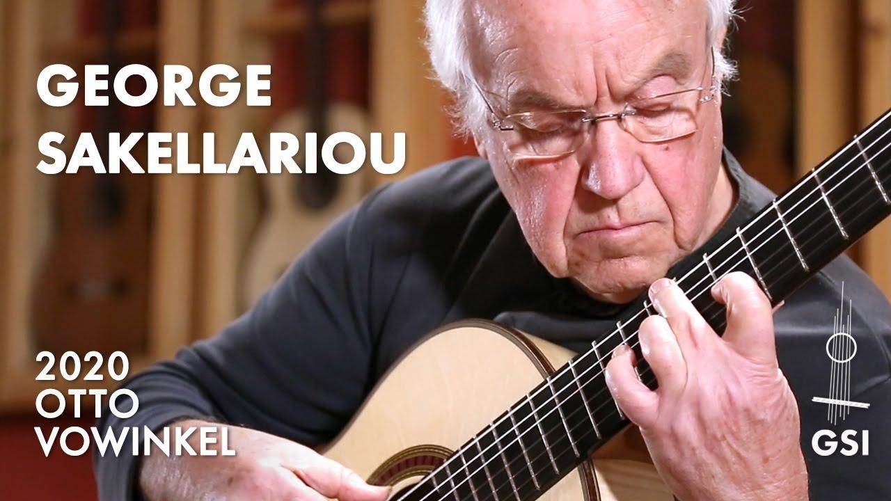 ジョージ・サケラリオウが弾くタレガの『エンデチャ・オレムス』