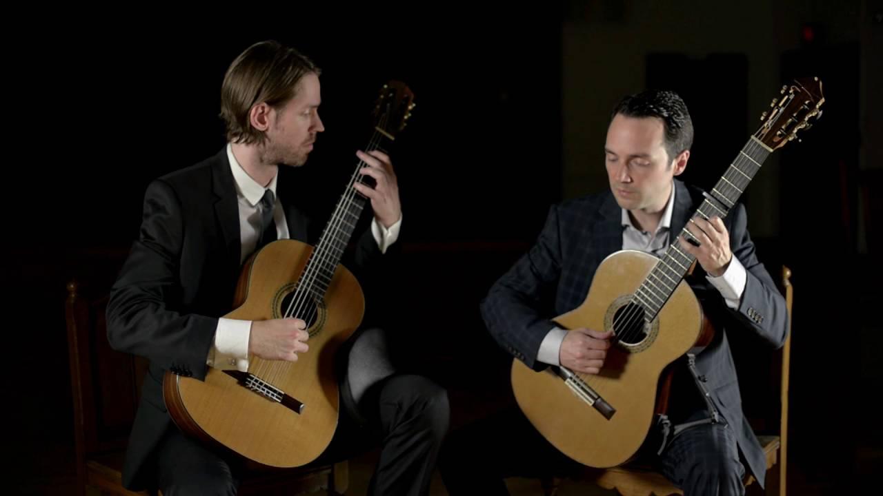 ドリュー・ヘンダーソンとマイケル・コークが弾くヴィヴァルディの『コンチェルト・ニ長調RV564』