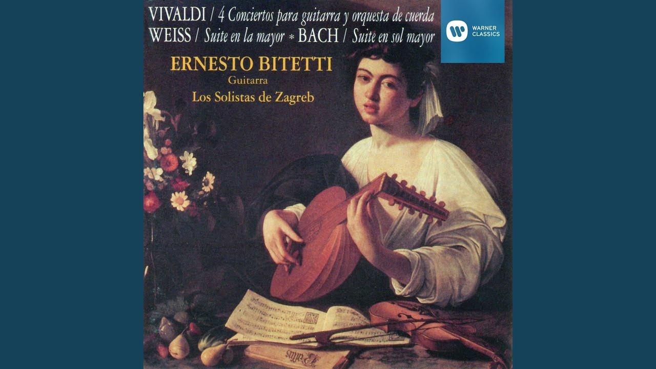 エルネスト・ビテッティが弾くビバルディの『調和の霊感op3-6~第1楽章』