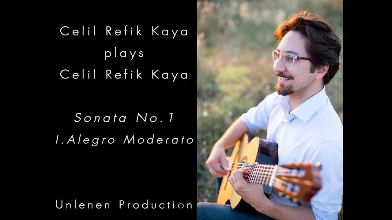 セリル・レフィック・カヤが弾く『ソナタNo1~第1楽章』